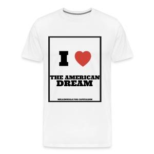 Men's Premium I Love The American Dream - Men's Premium T-Shirt