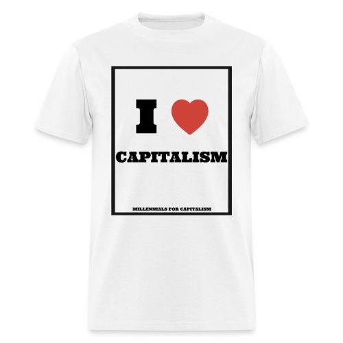 Men's Basic I Love Capitalism - Men's T-Shirt