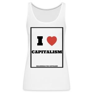 Women's Tank top I Love Capitalism - Women's Premium Tank Top