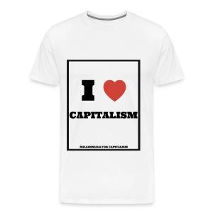 Men's Premium I Love Capitalism - Men's Premium T-Shirt