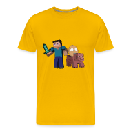 T-Shirts ~ Men's Premium T-Shirt ~ An Egg's Guide - Mens