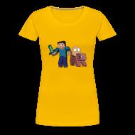 Women's T-Shirts ~ Women's Premium T-Shirt ~ An Egg's Guide - Womens