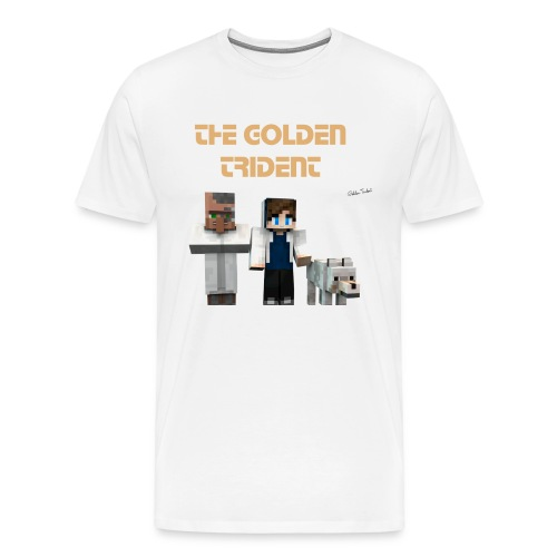 Golden Trident Shirt - Men's Premium T-Shirt