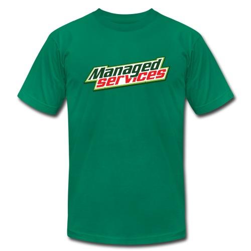 Mountain Dew T-Shirt - Men's Fine Jersey T-Shirt