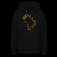 Hoodies ~ Women's Hoodie ~ The City 202 hoodie