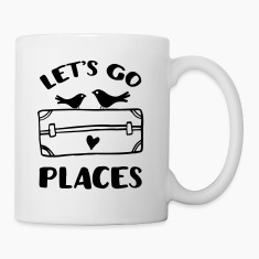 Let's Go Places Travel Mugs & Drinkware