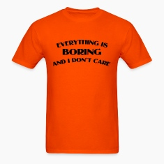 Everything Is Boring Crop Top