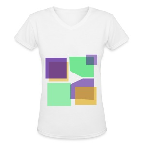 Women: Donald Louch V-Neck T-Shirt - Women's V-Neck T-Shirt
