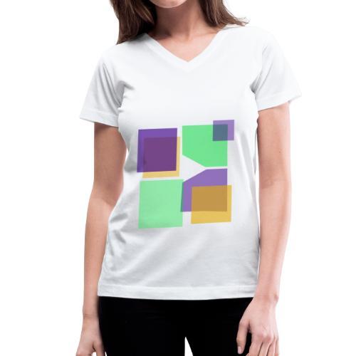 Women: Donald Louch V-Neck T-Shirt - Women's V-Neck T-Shirt