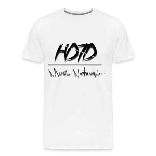 HDTD Design by: Statiz (White) - Men's Premium T-Shirt