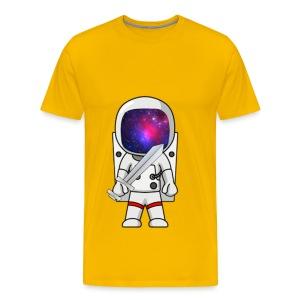 GalacticAstronaut w/Sword Mens - Men's Premium T-Shirt