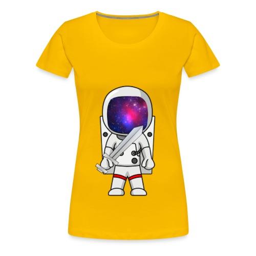 GalacticAstronaut w/Sword Womens - Women's Premium T-Shirt