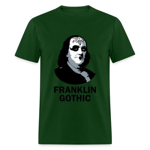 Franklin Gothic - Men's T-Shirt