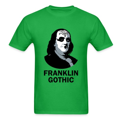 Franklin Gothic - Men's T-Shirt