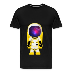 GalacticAstronaut w/Color Mens - Men's Premium T-Shirt