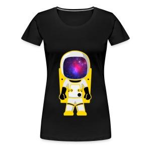 GalacticAstronaut w/Color Womens - Women's Premium T-Shirt