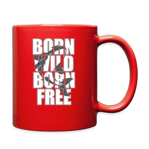 Born Free colored mug - Full Color Mug