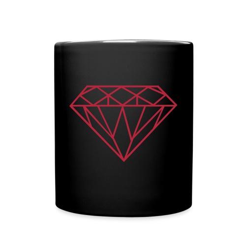DIAMOND MUG - BY ( Jacky ) - Full Color Mug