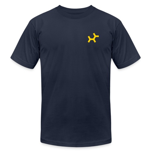 Front and back t-shirt - Men's Fine Jersey T-Shirt