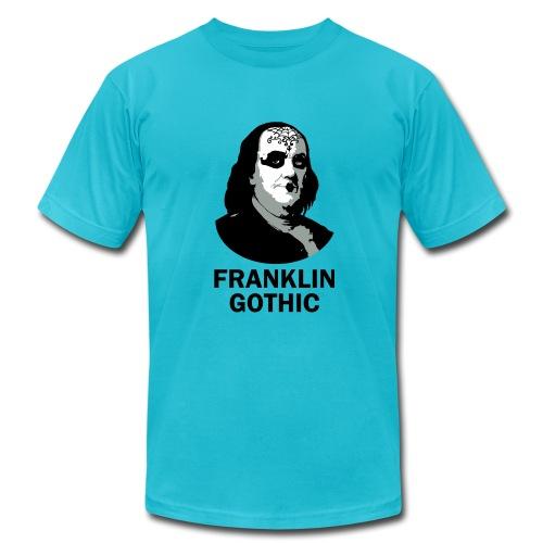 Franklin Gothic - Men's Fine Jersey T-Shirt