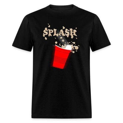 Splash Brown - Men's T-Shirt