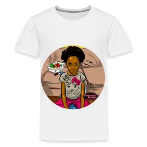 KIDS 'FRO OUT TEE SHIRT - Kids' Premium T-Shirt
