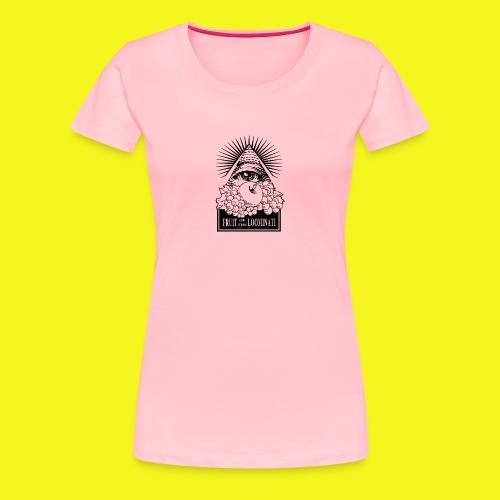 Fruit of the Loominati Womens Premium T - Women's Premium T-Shirt