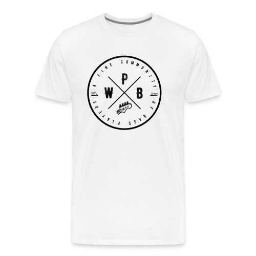 WEPLAYBASS - A Fine Community of Bass Players - Men's Premium T-Shirt