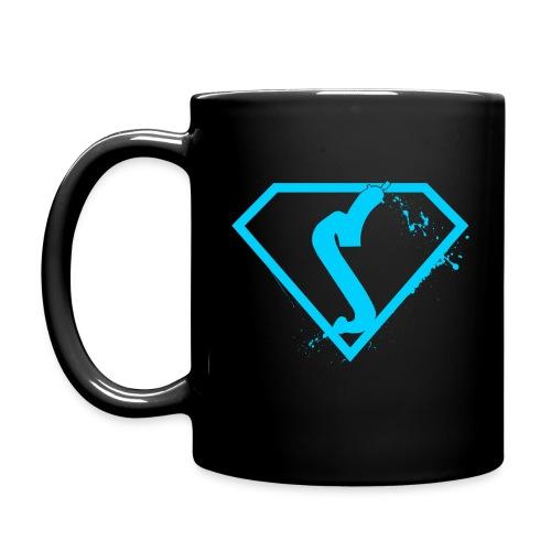 Super drinker! - Blue - Full Color Mug