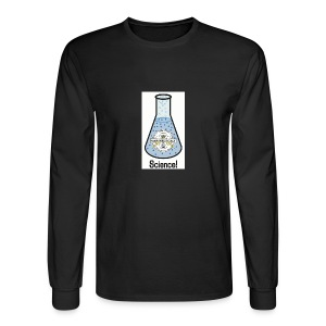 MOUS Flask Long Sleeve Black T - Men's Long Sleeve T-Shirt