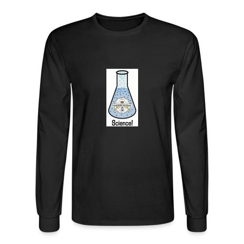 MOUS Flask Long Sleeve Black T - Men's Long Sleeve T-Shirt