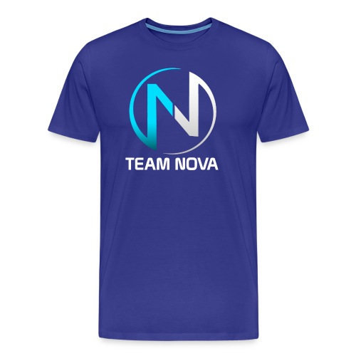 Team NoVa Blue T Shirt - Men's Premium T-Shirt