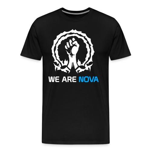 We Are NoVa BLACK T Shirt - Men's Premium T-Shirt