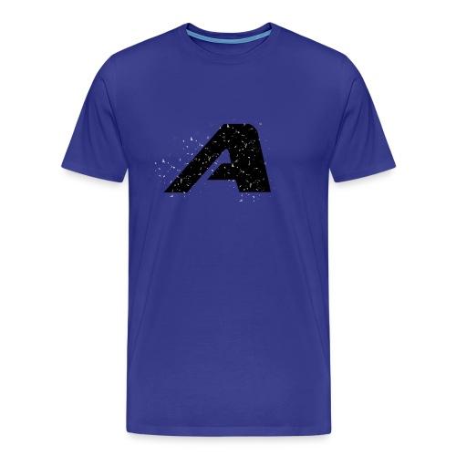 FlyAKP A Logo Particle Shirt (Multi colors) - Men's Premium T-Shirt
