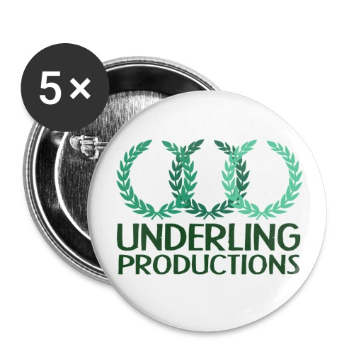 Green Underling Productions Buttons - Small Buttons