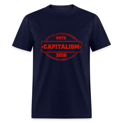Men's Vote Capitalism - Men's T-Shirt