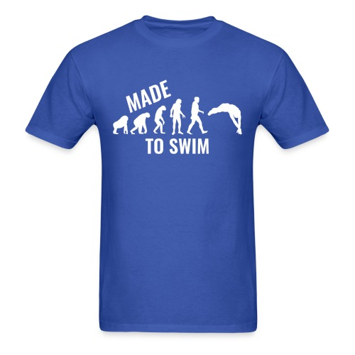 50k Likes Edition: Made To Swim - Men's Gildan T-Shirt - Men's T-Shirt