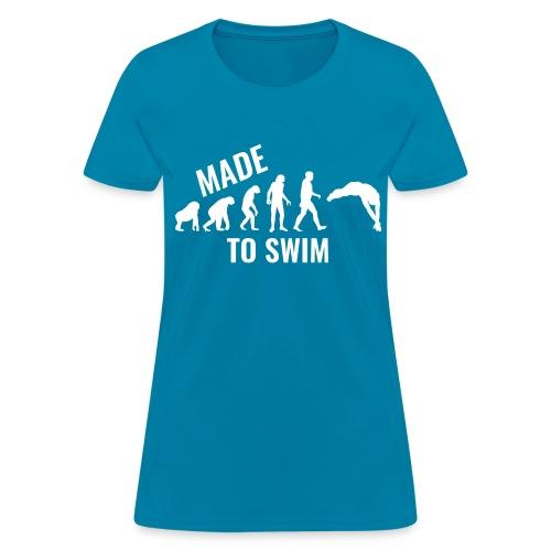 50k Likes Edition: Made To Swim - Women's Gildan T-Shirt - Women's T-Shirt