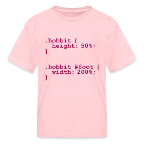 The Hobbit Code - Kids' T-Shirt