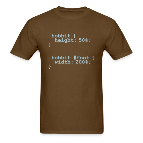 The Hobbit Code - Men's T-Shirt