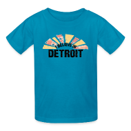 Kids' Shirts ~ Kids' T-Shirt ~ I Believe in Detroit