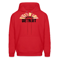 Hoodies ~ Men's Hoodie ~ I Believe in Detroit