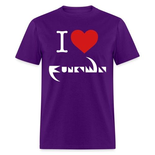 I Love Funky Way T-Shirt - Men's T-Shirt