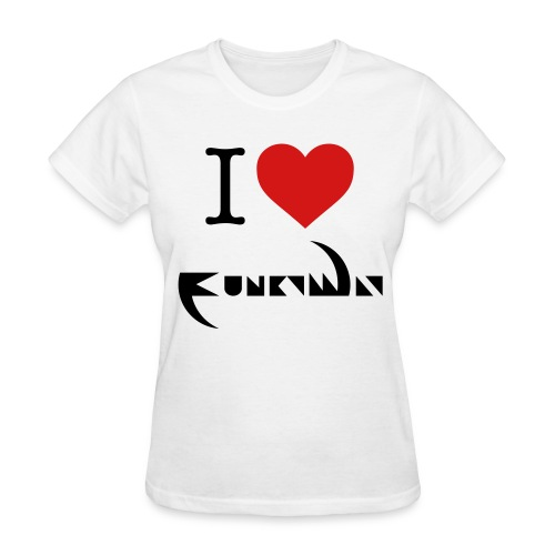 I Love Funky Way Women's T-Shirt - Women's T-Shirt