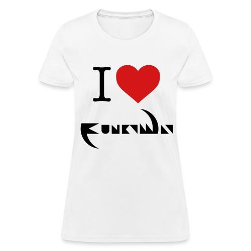 I Love Funky Way Women's T-Shirt - Women's T-Shirt