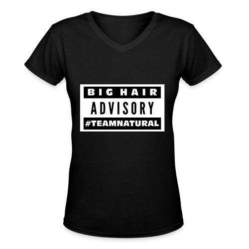 TeamNatural - Women's V-Neck T-Shirt
