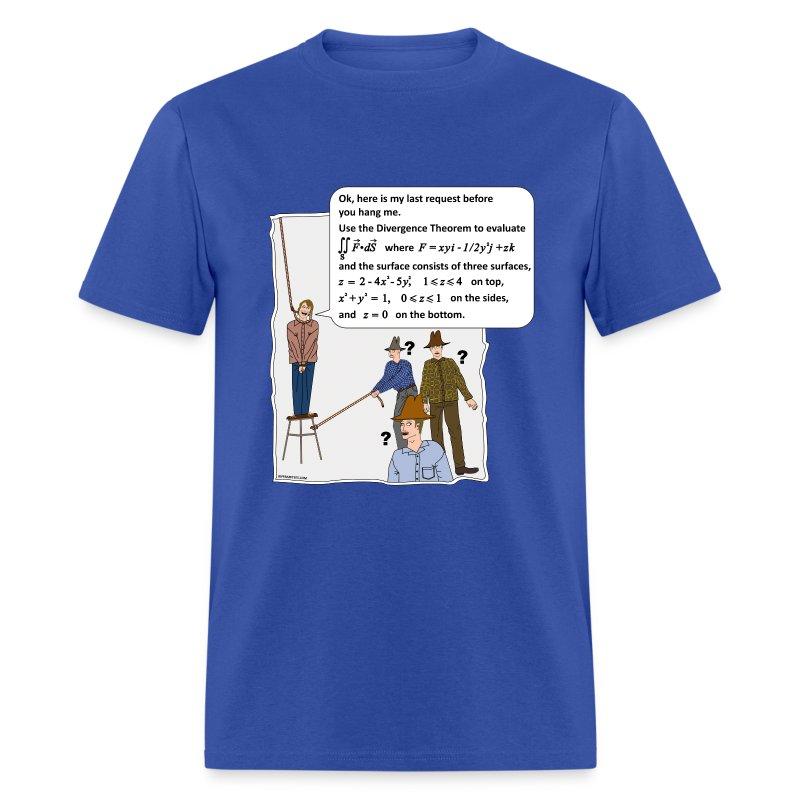 funny math tshirt math humor shirt divergence theorem t