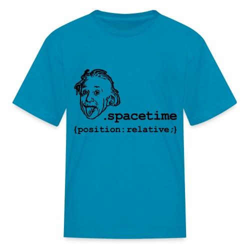 Position Relativity - Kids' T-Shirt