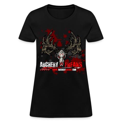Archery Freaks Laidies T Shirt - Women's T-Shirt