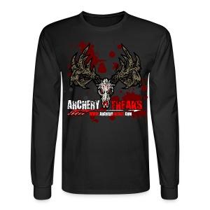 Archery Freaks Hanes Long Sleave T - Men's Long Sleeve T-Shirt